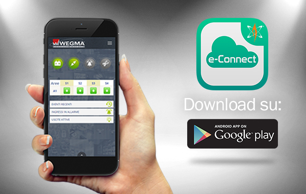 App e-Connect: è ora disponibile per smartphone Android